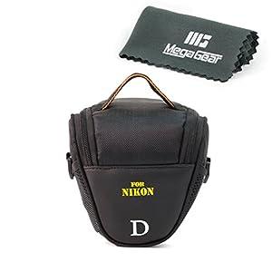 MegaGear ''Ultra Light'' Camera Case Bag for Nikon Coolpix, B500, L830, L840, P520, Nikon 1 S1, Nikon COOLPIX P530, P600 Nikon 1 J4, Nikon 1 J5