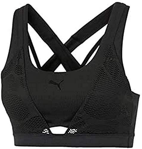 PUMA Damen Sport Bh Studio Lace Strappy Bra L