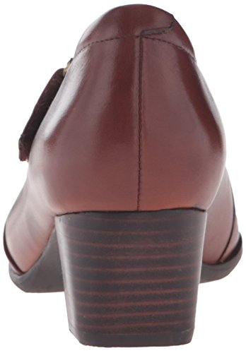 Bomba Clarks Rosalyn Wren Tan Leather