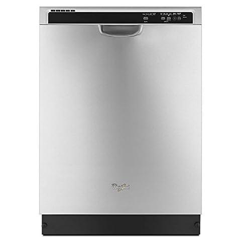 WHIRLPOOL DISHWASHERS 2479885 Dishwasher With Anyware Plus Silverware Basket, Stainless Steel, 4 (Dishwashers)