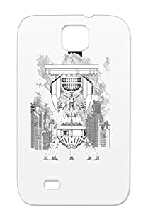Symbols Shapes Tv Fringe Miscellaneous Tear-resistant White Fringe The Machine For Sumsang Galaxy S4 Protective Hard Case