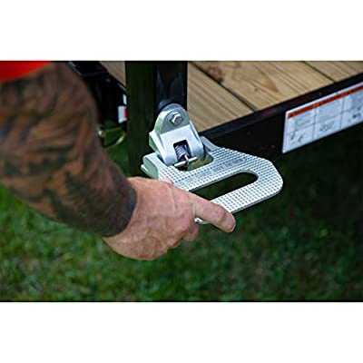 Buyers Products 5236586 Silver Folding Truck Step: Automotive