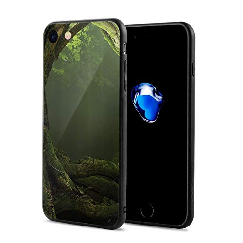 - Huge Tree Trunks iPhone 7/8 Case Mobile Phone Protection Shell Unique Design Anti-Skid Function Slim Fit iPhone 7 iPhone 8 4.7 Inch (Black)
