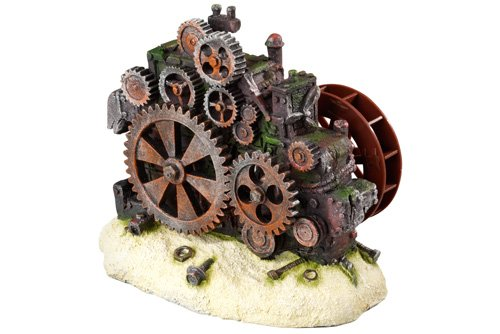 Aqua Della Gearwheel Bubble Action Decoration Ornament, 17.5 x 10 x 14cm by Aqua Della