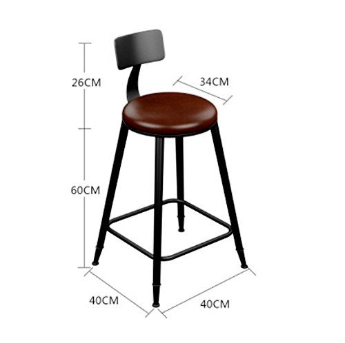 Amazon.com: GOHM Bar High Stools Chairs Kitchen Stools ...