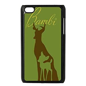Bambi iPod Touch 4 Case Black Exquisite designs Phone Case TF6578JH