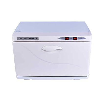 UV Ozono Desinfección Gabinete Toalla Calentador Esterilizador Soltero Puerta Esterilizante Herramienta Manicura Herramienta