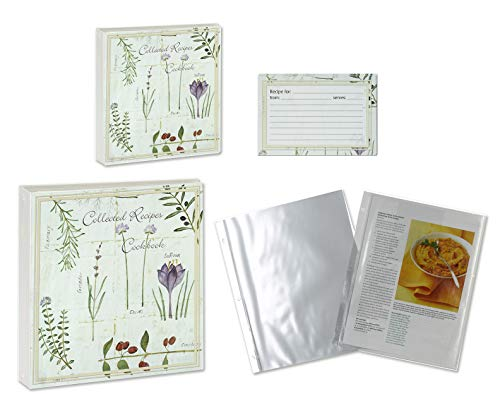 Meadowsweet Kitchens Recipe Collection Binder Gift Sets (Botanical Treasures Deluxe)