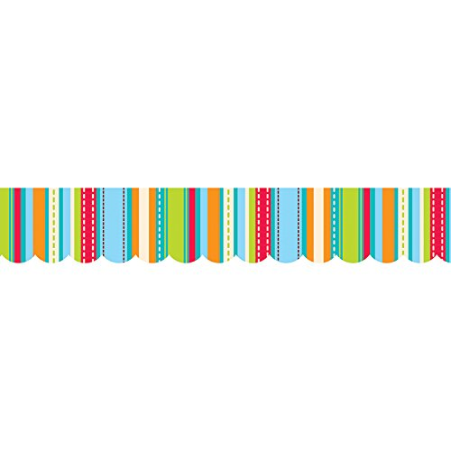 Creative Teaching Press Stripes and Stitches Border (1040)