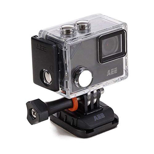 AEE LYFE Silver 4K Action Camera w/Time Lapse, Slow Motion, 1.8