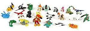 "Pokemon Set of 24 pieces - 1"" Inch Mini Action Figure Set (Also Suitable for Cake Toppers)"