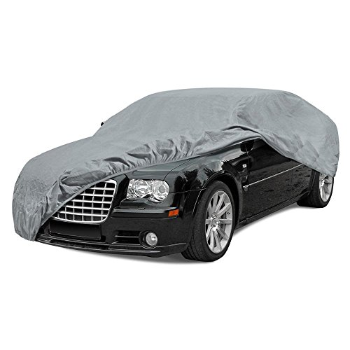BDK Max Shield Car Cover for Chrysler 300 - UV Proof, Water Repellent, Paint Safe, Breathable ()
