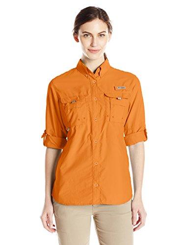 Columbia Women's Bahama Long Sleeve Shirt, Koi, X-Large