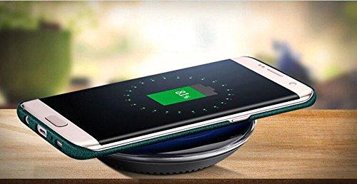Anccer Funda Samsung Galaxy S8 Case [Serie Colorida] [Ultra Delgado] [Anti-Drop] ultrafin Premium Carcasa 5,8 pulgadas (Grava Negro) Grava Verde