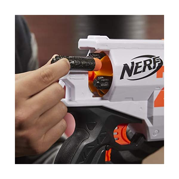 NERF-Ultra-Two-Motorized-Blaster-Fast-Back-Reloading-Includes-6-Ultra-Darts-Compatible-Only-Ultra-Darts