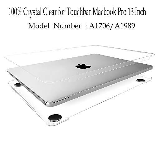 Twinscase Compatible Protective Touchbar Transparent