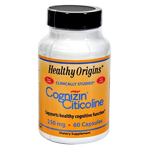 Healthy Origins Cognizin Citicoline - 250 mg - 60 Capsules