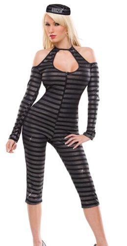Sexy VIP Prisoner Costume - Womens Md/Lg 12-14