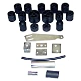 Performance Accessories, Jeep Wrangler TJ/TJL 5-Speed Manual/Auto 4WD Only 2'' Body Lift Kit, fits 1997 to 2006, PA972, Made in America