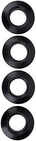 Drip Rings,Aisxx 4Pcs Durable Practical Kayak Paddle Drip Ring Adopting Quality Rubber Material,Fit for Most K