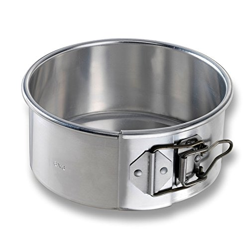 Chicago Metallic 40406 Springform Cake Pan, 6'' Dia, 2.75'' Deep, Non-coated 20-ga. Aluminum