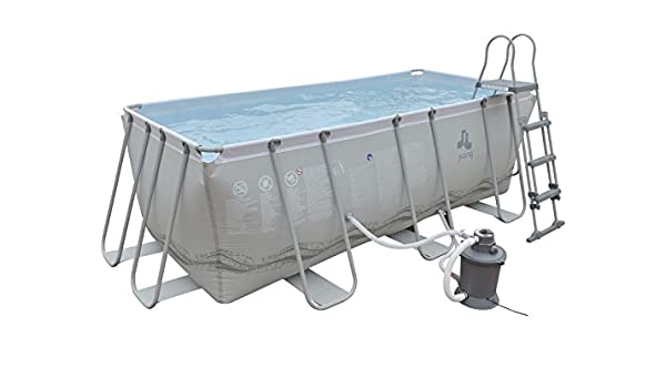 JILONG Piscina Desmontable 400x207x122 cm 17451-1: Amazon.es ...