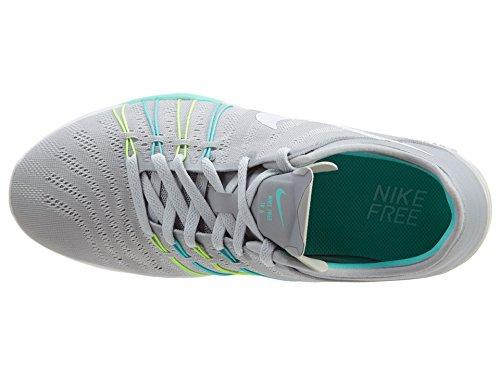 hyper Tr ghost Nike wolf Free 6 Da Turquoise Donna Grey Scarpe Grigio Green white Corsa wwav7q5