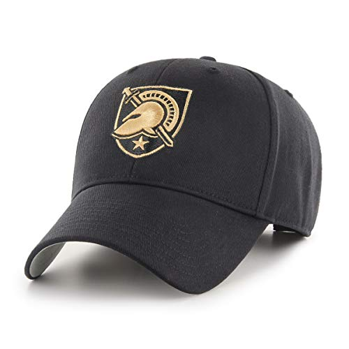 Knights Embroidered Hat - OTS NCAA Army Black Knights All-Star MVP Adjustable Hat, Black, One Size