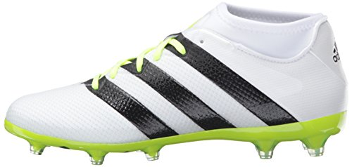 brand new d5784 64a75 adidas Performance Women s Ace 16.2 Primemesh FG AG W Soccer Shoe, White  Black Electricity, 10 M US