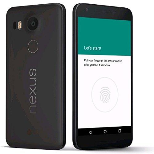LG Nexus 5X H791 32GB Carbon Black, Factory Unlocked EU GSM Smartphone,  International Model, No Warranty