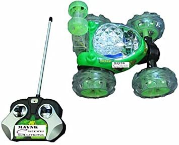 rechargeable stunt racer remote control car kids toys battery operated rc music