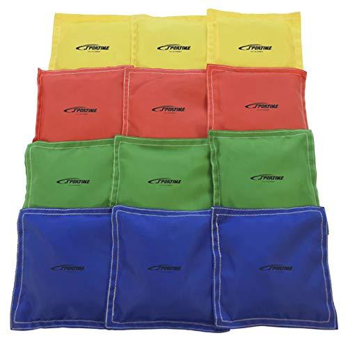 Sportime Heavy Duty Nylon Bean Bags -