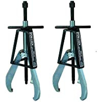 Posi Lock 110 Manual Puller, 3 Jaws, 20 tons Capacity, 9-2/3 Reach, 1 - 15 Spread Range, 20-2/5 Overall Length (2-Pack)