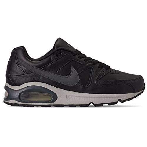 Nike Men's Air Max Command Sneakers Black with Gray