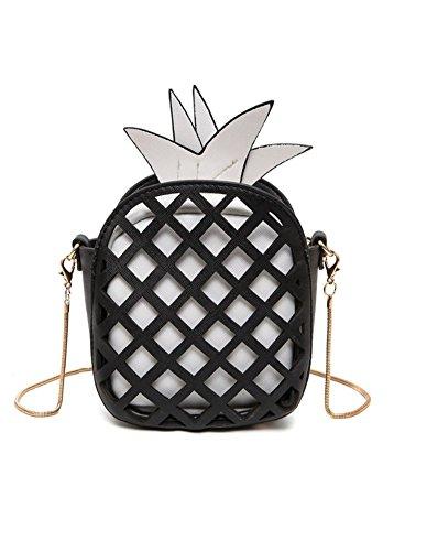 pineapple C Black Santwo Women Handbag wqP0x0ZYIt
