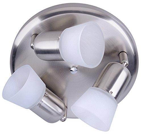 Omni Light Mount Flush - CANARM ICW5351 Ceiling/Wall Omni 3 Light