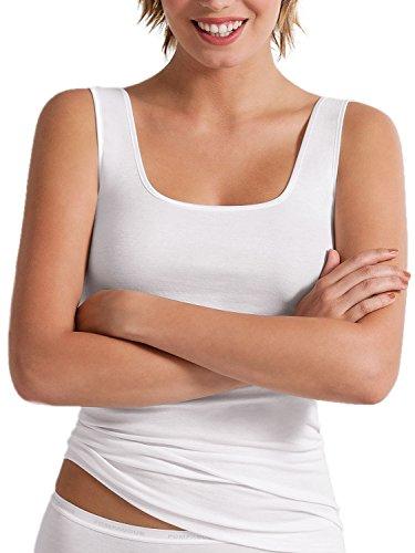 Intime 56 Weiß Manches Taille Damenunterwäsche 98106 De T Sans 38–50 Micromodal shirt Sport 773–560 EFUqn