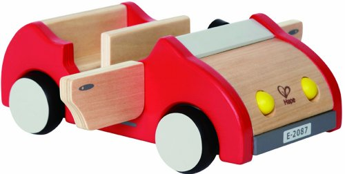 Hape Wooden Doll House Furniture Family Car Play - Doll Houses Furniture