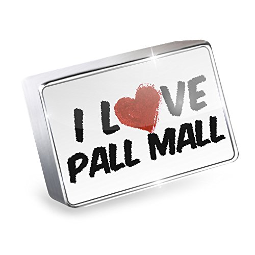Floating Charm I Love Pall Mall Cocktail Fits Glass Lockets, - Fit Pall