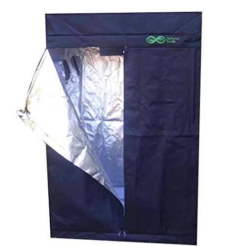 Tent GROW 79''x 51''x 27'' Reflective 600D Mylar Hydroponic, Heavy Duty, Strong zippers. by Tent