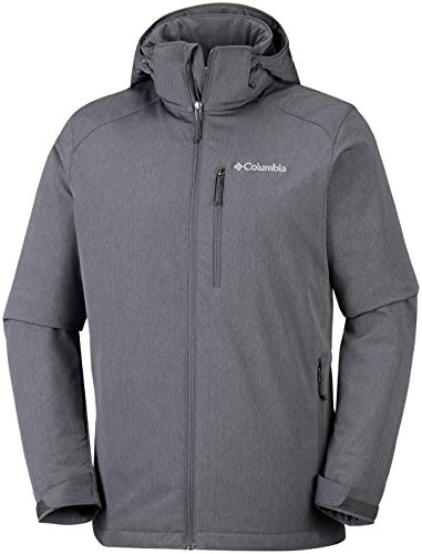 Gate Graphite Black Hombre Gris Chaqueta Racer Columbia Softshell fwxqOgFTgH