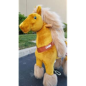Beyond Shop Ponycycle Pony Cycle Ride On Horse No Need Battery No Electric Just Walking Horse ACE the WINNER - Size MEDIUM for 4 to 10 Years Old