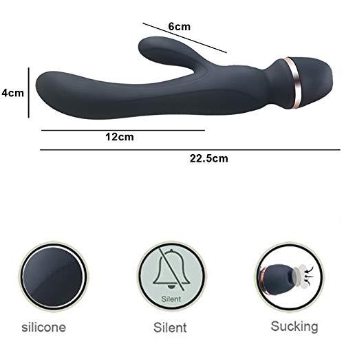 Chupar vibradores para mujeres Punto G 10 vibrador con 7 chupar 10 G vibración oral sexo lamer clítoris/mama estimulador vagina masajeador para mujeres y pareja 3b9d5a