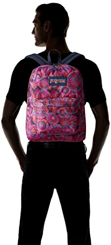 JanSport Superbreak Backpack- Sale Colors (Multi Diamond Arrows) by JanSport (Image #4)
