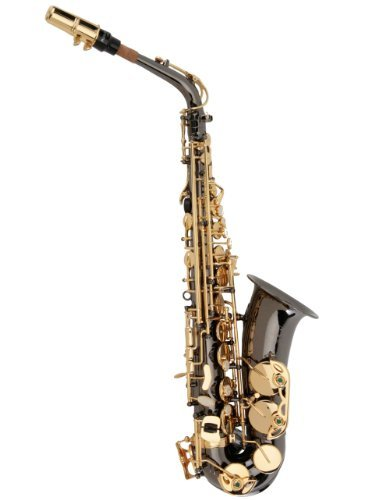 Ravel PR12C Alto Saxophone - Black Nickel Plated - Key of Eb