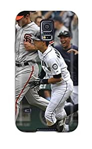 DanRobertse Galaxy S5 Well-designed Hard Case Cover Seattle Mariners Sports Protector