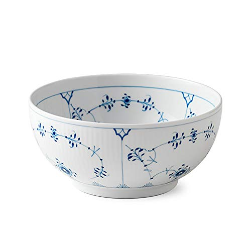 - Blue Fluted Plain 32 oz. Bowl