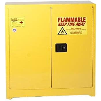 Eagle 1932 Flammable Storage Cabinet, Manual Latching Door, 30 Gallon Amazing Ideas