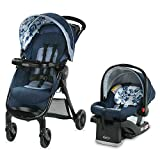 Graco FastAction SE Travel System | Includes FastAction SE Stroller and SnugRide 30 LX Infant Car Seat, Tessa