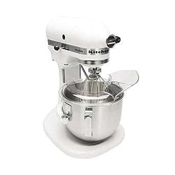 KitchenAid 5 KPM5 planetaria mezclador de alimentos, 4,8 L), color blanco: Amazon.es: Industria, empresas y ciencia